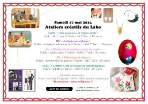 programme ateliers mai 14 A4