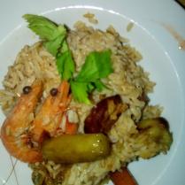 Jumbalaya poulet/crevettes